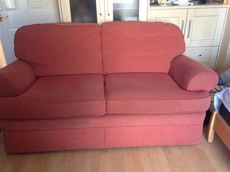marks and spencer sofa beds sofa bed marks and spencer s terracotta colour in morley