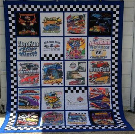 Race Shirt Quilt t shirt quilt made with racing shirts t shirt quilts