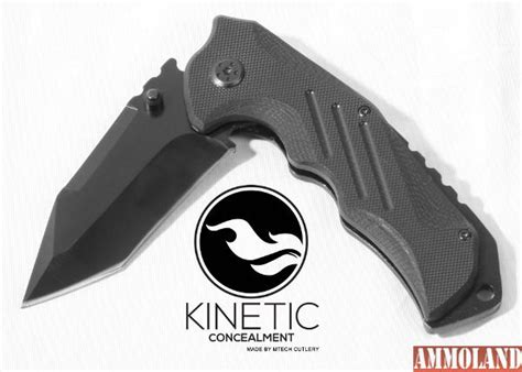 kinetic tactical kinetic concealment introduces tac 1 tactical knife survival