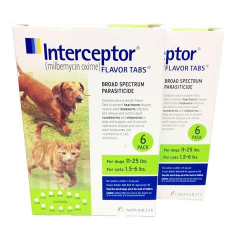 interceptor for dogs interceptor for dogs and cats interceptor flavor heartworm tabs allivet