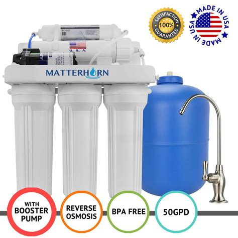 Sink Osmosis Water Filter System by Matterhorn Superior Osmosis The Sink Water