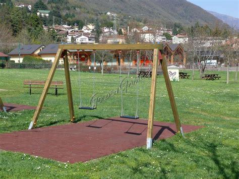 altalena giardino legno altalena per bambini uso pubblico