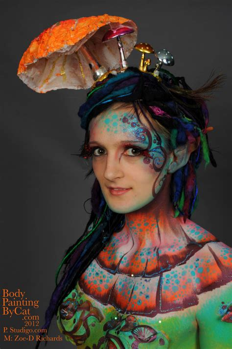 uk face amp body art convention 2012 body painting by cat