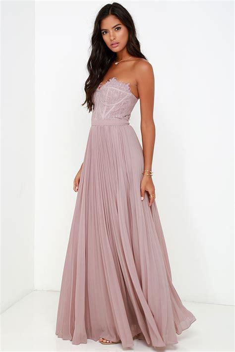 Maxi Longdress Lipat bariano dress taupe dress lace dress maxi