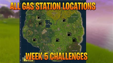 fortnite gas stations fortnite gas station locations all 7 gas station