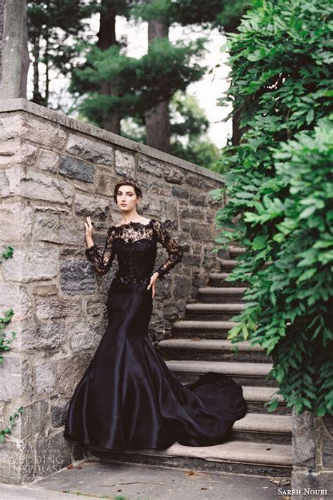 Wedding Black by 25 Glamorous Black Wedding Dresses Luxury Pictures
