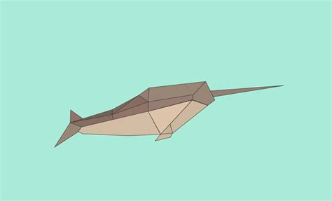 Origami Narwhal - 14 best origami images on origami paper and