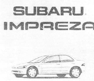 online auto repair manual 1998 subaru impreza free book repair manuals repair manuals subaru impreza 1997 98 repair manual