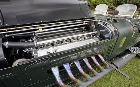 bentley with a spitfire engine bobs bespoke and merlin