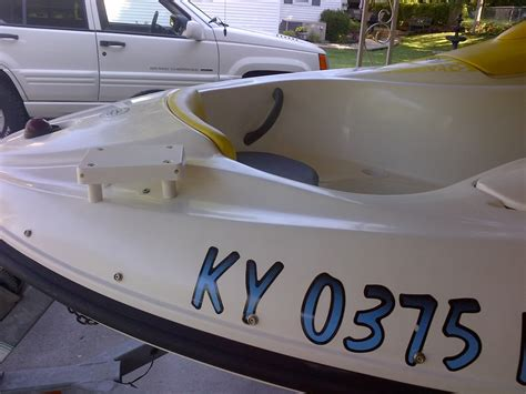 sea doo boat with trolling motor trolling motor for 2004 challenger sea doo forum