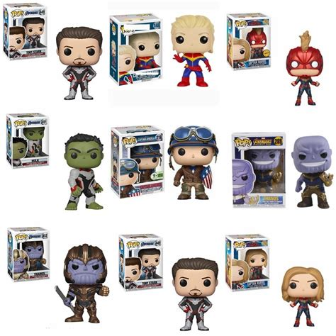 funko pop avengers endgame collection dolls iron