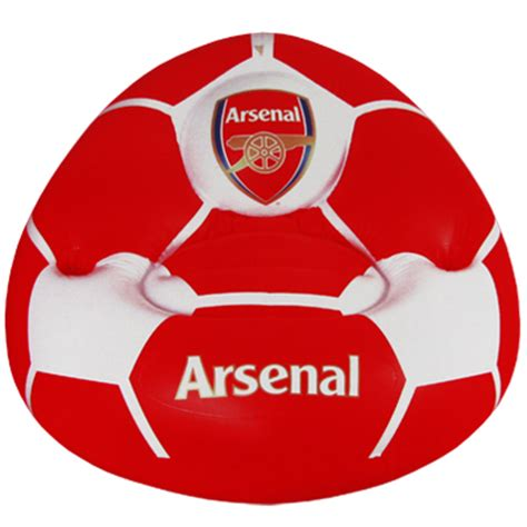 arsenal gift shop arsenal fc inflatable chair afc merchandise gifts shop