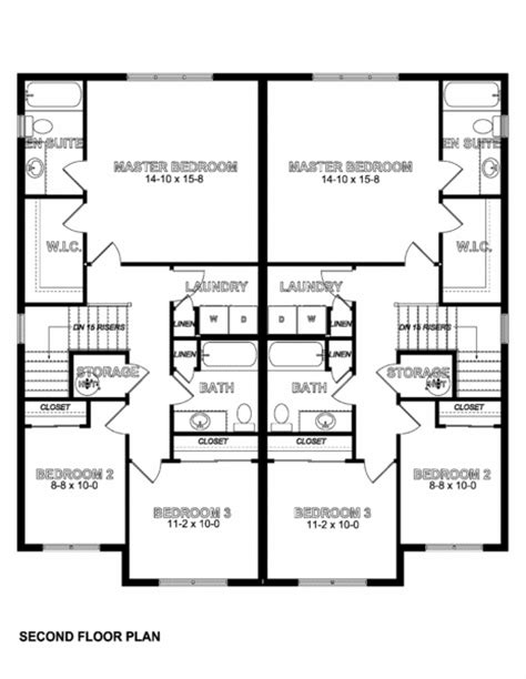 side by side duplex house plans side by side craftsman style duplex with option for finished basement house plan hunters
