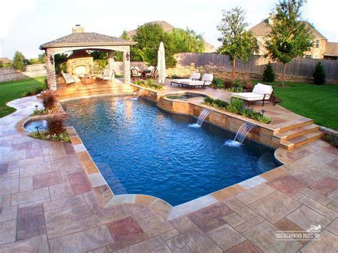 Backyard Paradise Pools by Best 25 Pool Shapes Ideas On Pool Ideas
