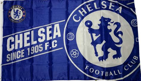 official chelsea football club 1780549466 chelsea flags banner crested since 1905 official football club gifts ebay