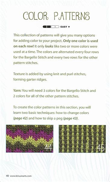 knit dictionary loom knit stitch dictionary from knitpicks knitting by
