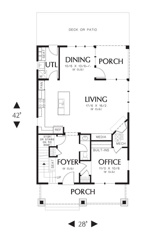 starter home floor plans coastal house plan 21133 the darlington 1925 sqft 3 beds 2 1 baths