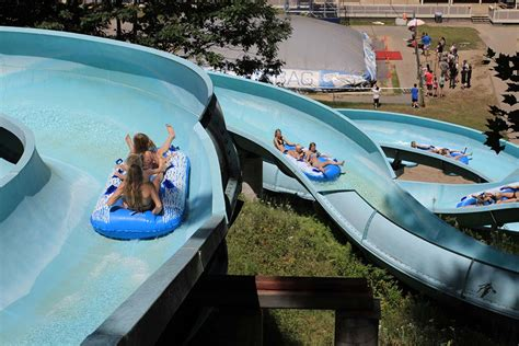 Water Slide Sections by Attitash Mountain Adventure Park Cranmore Mountain Lodge