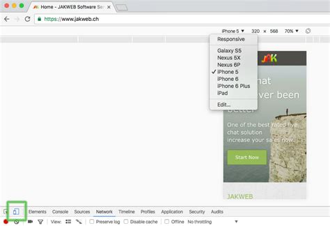 mobile browser tester responsive mobile browser test jakweb live support chat