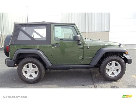 green jeep rubicon jeep green metallic 2009 jeep wrangler rubicon 4x4