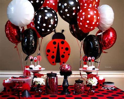 themes of gold bug ladybug party creative ideas create the best birthday