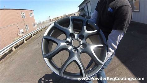 sterling charcoal gunmetal powder coated mazda wheels