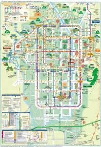 of florida cus map pdf kyoto buses map