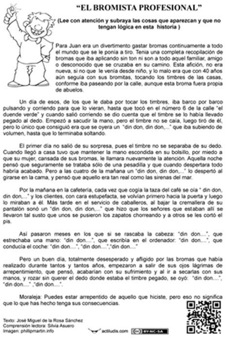 lectura y redaccin ejercicios y teora sobre lengua espaola coleydeporte lecturas absurdas y misteriosas plan mejora