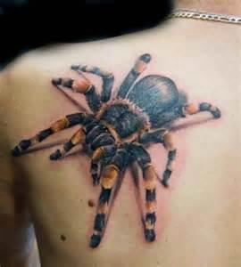 tarantula 3d shoulder blade tattoo ideas tattoo designs