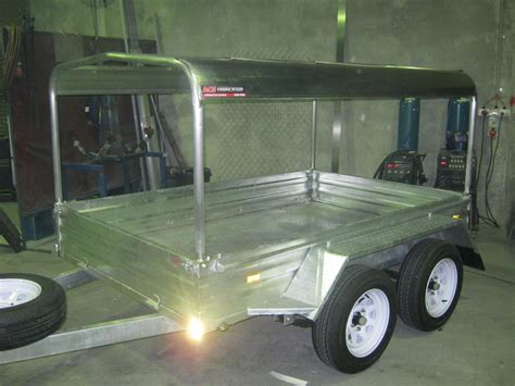 boat trailer canopy trailer with canopy frame acs fabrication perth wa