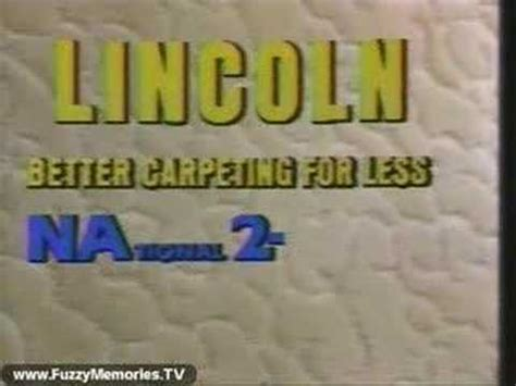 songs about lincoln lincoln carpeting song