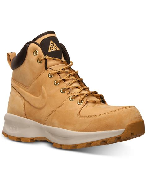 nike sneaker boots mens nike s manoa leather boots from finish line in