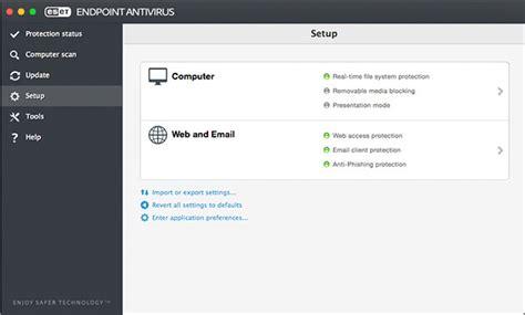 Antivirus Eset Endpoint business endpoint antivirus for macos eset