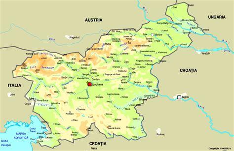 slovenia on world map map of slovenia maps worl atlas slovenia map