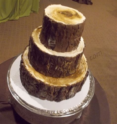 Wedding Log by Log Wedding Cake Cakecentral