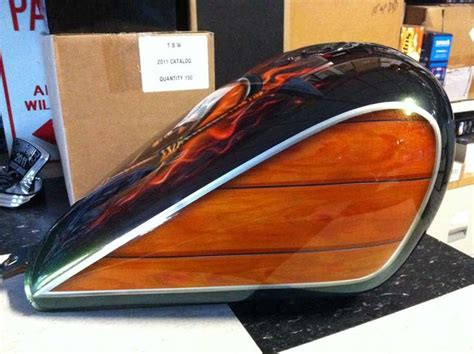 17 best images about faux wood painted motorcycles on bikes honda and motorcycle tank