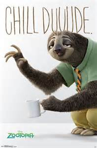 Inspirational Wall Sticker Quotes zootopia flash movie poster 22x34 disney sloth