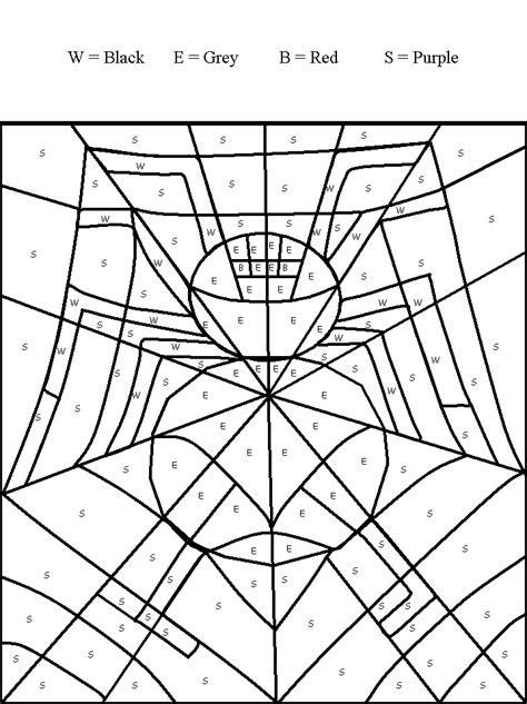 halloween color by number pages az coloring pages