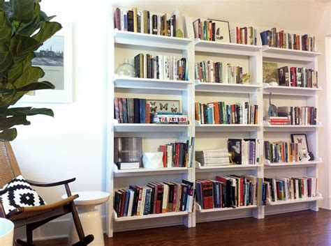 Furniture Alluring Pictures How To Make Custom Custom Bookshelves Ideas