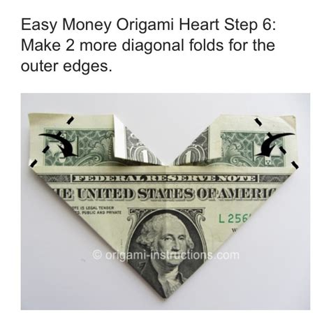Easy Origami With Dollar Bills - easy dollar bill origami trusper