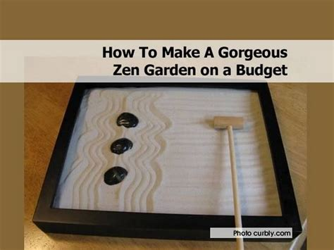make your own zen garden how to make a gorgeous zen garden on a budget