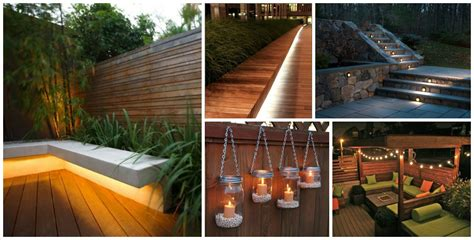 diy backyard and patio lighting ideas