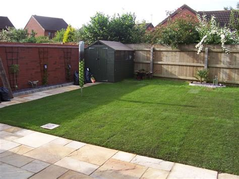 Patio And Outdoor by Patio Slabs And Turf Laid Mr Builders Lincolnshire