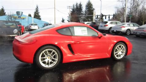 guards red porsche 2014 porsche cayman guards red stock 109695 walk