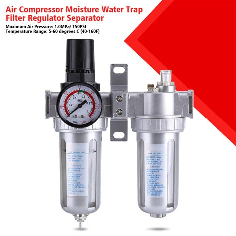 Regulator Win High Pressure 3 8 quot air compressor water regulator filter pressure