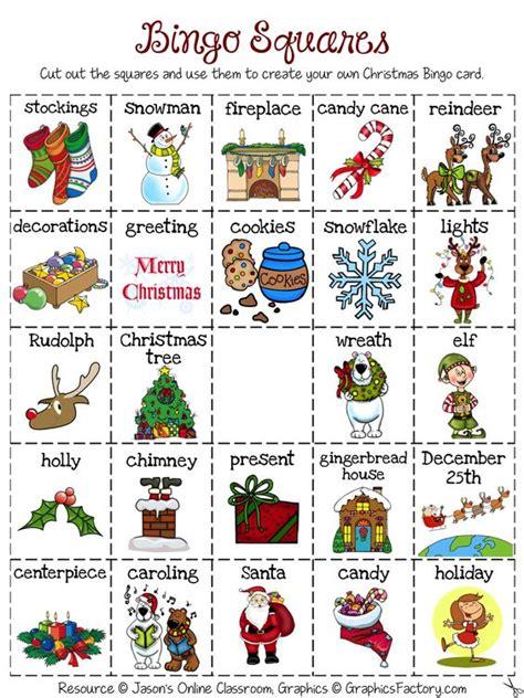 make vocabulary cards create your own luck bingo freebie