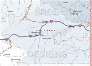 clear creek county colorado color map