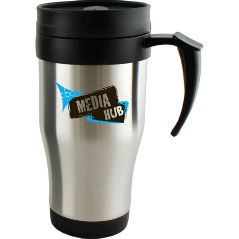 best stainless steel travel mug stainless steel travel mug with slider and screw top