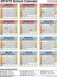 2014 15 Academic Calendar Template by Blank Academic Calendar 2014 15 Calendar Template 2016