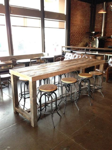 rustic wood restaurant tables best 25 reclaimed wood bars ideas on wood
